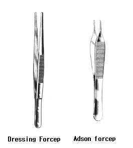 forcep(dressing/tissue)